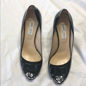 Jimmy Choo Peep toe pumps